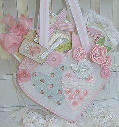 Pink heart pocket
