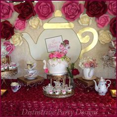 Bridal Tea Party | CatchMyParty.com