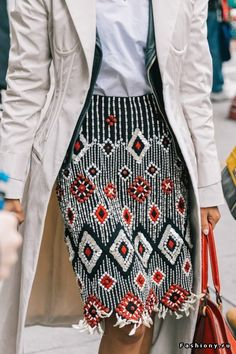 New York Fashion Week осень-зима 2018-2019 - street style