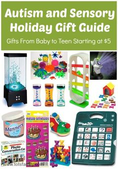 Autism and Sensory Holiday Gift Guide - Thinking Outside The Sandbox Family