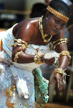 "Africa | ""Panafest Dancer"" (Dec 2005).  Cape Coast, Ghana 