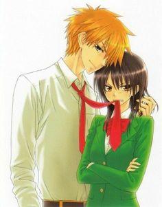 Usui and Misaki ~Kaichou wa Maid-sama! Maid Sama Manga, Anime Maid, Tsundere, Vocaloid, Manga Cover, Usui Takumi, Comedy Anime, Kaichou Wa Maid Sama, Fan Art