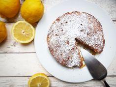 Kukuřičný citronovo-mandlový koláč – Recepty z postele
