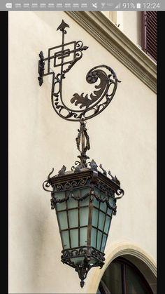 Ideas Exterior House Lighting Ideas Lanterns For 2019 Exterior Lighting, Outdoor Lighting, Lighting Ideas, Old Lanterns, Ideas Lanterns, Wrought Iron Candle Holders, Lantern Lamp, Cool Lamps, Iron Art
