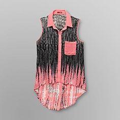 Bongo- -Juniors Chiffon Shirt - Tribal