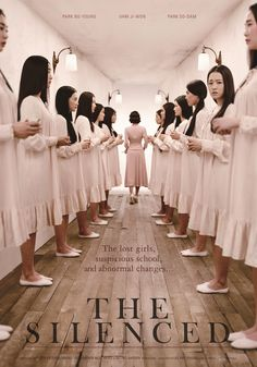 The Silenced starring Park Bo Young and Park So Dam. Asian Horror Movies, Best Horror Movies, Horror Movie Posters, Scary Movies, Cinema Posters, Park Bo Young, Cinema Movies, Film Movie, Film Recommendations