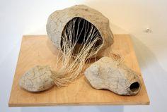 Graham Smart, Untitled, 2013, paper pulp & thread