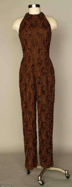 JumpsuitBill Blass, 1970sAugusta Auctions