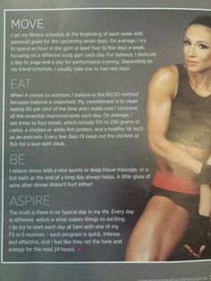 1 hr daily, yoga.  Set fitness goals each week. 80/20 rule diet. Massage. Paige Hathaway