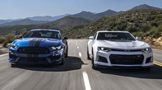 2017 Chevrolet Camaro ZL1 vs. 2017 Ford Shelby Mustang GT350R - Head 2 Head On this episode of Head 2 Head presented by Tire Rack (http://www.tirerack.com), Jason Cammisa and Jonny Lieberman take a hard, smoky look