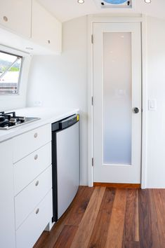 Rv Mods, Kitchenette, Rv Life, Airstream, Minimalism, Innovation, Kitchen Cabinets, Essentials, Space