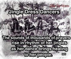 Jingle Dress Dancers - It's more than just a dance style #PowWow #Native Beautiful Culture!
