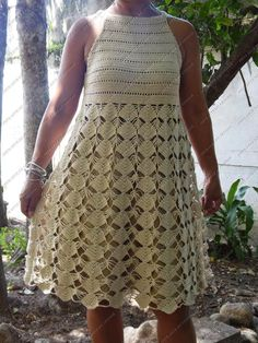 Crochet Art, Crochet Woman, Crochet Doilies, Crochet Blouse, Crochet Bikini, Church Dresses, Curvy Outfits, Look Chic, Crochet Clothes