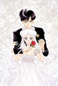 Naoko Takeuchi, BSSM Original Picture Collection Vol. IV, Prince Endymion, Princess Serenity