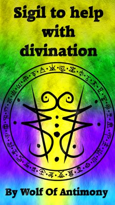 Sigil to help with divination Requested by anonymous