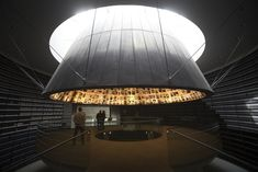 Discover 14 of the most famous monuments and moving memorials around the world, from Israel's Yad Vashem to New York's Memorial and Museum Memorial Architecture, Monumental Architecture, Space Architecture, Architecture Details, Exhibition Display, Exhibition Space, Museum Exhibition Design, Art Museum, Presentation Board Design