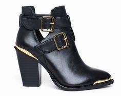 semi open shoes