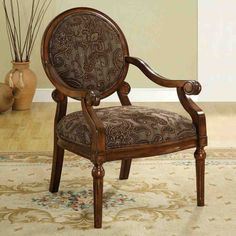 Round Accent Chair
