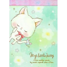 My Little Kitty Mini Memo Pad (◕ᴥ◕) Kawaii Panda - Making Life Cuter