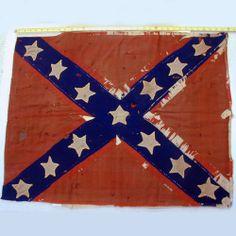 Louisiana Confederate Regimental Flags | Captured Confederate Flags - Wisconsins Civil War Battle Flags