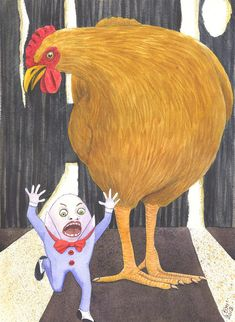What The Cluck Painting  - What The Cluck Fine Art Print