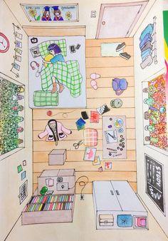 Art And Illustration, Illustrations And Posters, Pretty Art, Cute Art, Anime Kunst, Anime Art, Dibujos Cute, Kawaii Wallpaper, Anime Scenery