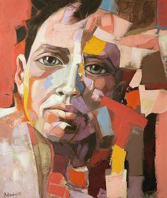 "Saatchi Art Artist: sorin dumitrescu mihaesti; Acrylic Painting ""Portrait 0079"""