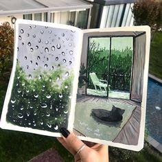 Art Journal Inspiration, Art Inspo, Gouche Painting, Posca Art, Art Diary, Arte Sketchbook, Mini Canvas Art, Art Drawings Sketches, Gouache