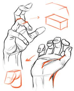 There's a common mistake you're probably making when drawing hands. This critique will show you how to fix it. Full 75 minute premium critique for this lesson at Body Drawing, Anatomy Drawing, Figure Drawing, Drawing Reference, Drawing Hands, Gesture Drawing, Drawing Practice, Drawing Poses, Character Drawing