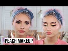 21 Peach Eye Shadow Looks; Too Faced Kylie Cosmetics | Gurl.com