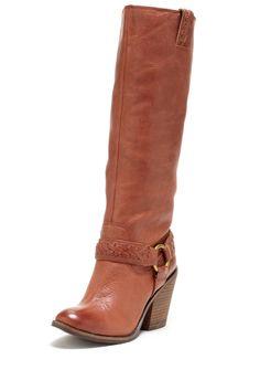 Ethelda Stacked Wedge Boot