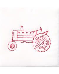 Stamped White Quilt Blocks Old Tractor x at discount prices! Please take a look at our quality selection of Stamped White Quilt Blocks Old Tractor x Tractor Quilt, Farm Quilt, Embroidery Patterns, Hand Embroidery, Quilt Patterns, Embroidery Transfers, Quilting Ideas, Tractor Crafts, Cheap Quilts