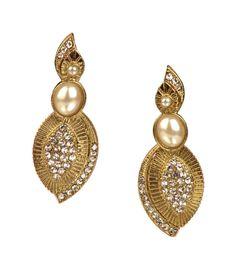 #Indian Bollywood Fashion Women Wear Ethnic Designer Dangle Earrings Set #VGJewel #DropDangle