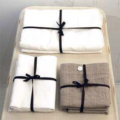 hand made linen sheets