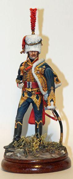 Ufficiali degli ussari francese