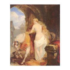 File Claxton Lady Godiva 1850.jpg ❤ liked on Polyvore