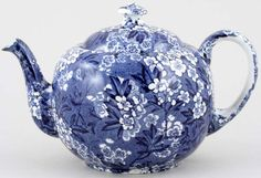 Bourne and Leigh May Blossom Teapot c1930s