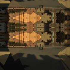Floor plan #glitch #glitchart #photomanipulation #italy #prato