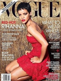 Rihanna - Vogue US November 2012 cover (2nd cover) photographed by Annie Leibovitz