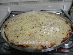 Softs e Receitas: Pizza de liquidificador
