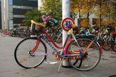 Yarn bombing by astridmn, via Flickr