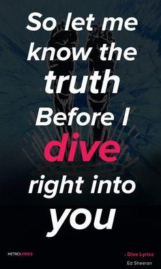 Ed Sheeran: Dive
