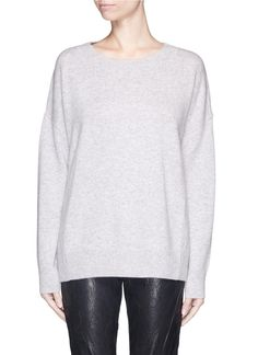 FRAME DENIM - 'Le Boyfriend' cashmere sweater | Grey Sweater Knitwear | Womenswear | Lane Crawford