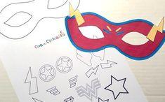 6 PJ Maschere carta faccia Maschere-Maschere colorato per bambini PARTY Borsa Filler