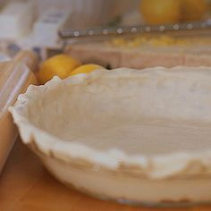 Fretting over ingredients for a quick flaky pie crust?  2 1/2 c. Flour 1 c. Shortening 1 Tsp. Baking powder 1/2 tsp. Salt 1 egg + 1/2 c. cold water  See it's easy peasy, lemon squeezy! How do you create your perfect crust?  #sharethebounty #holidays #moss