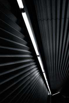 Staircase of Lidabashi-Station, Oedo-line, Tokyo, Japan. Architect: Makoto Sei Watanabe.