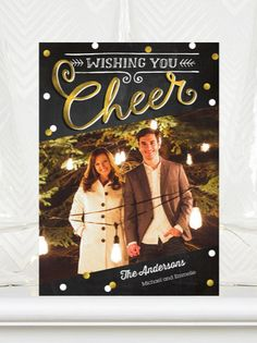 Card design: Yuletide Cheer  |  #ChristmasCards