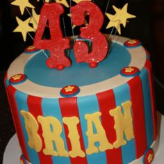 1000+ images about BJ Cake Ideas on Pinterest Circus ...