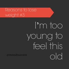Reasons to lose weight #3