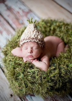 Blades of 'Grass' Green Photo Prop Baby Blanket for Newborn Photography by BabyBirdz, $65.00